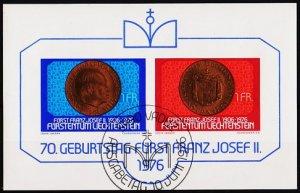 Liechtenstein. 1976 Miniature Sheet. S.G.MS635 Fine Used