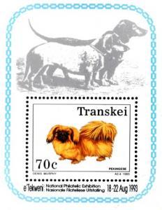 Transkei - 1993 Dogs Philatelic Foundation MS MNH**