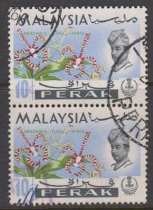 Perak Sc#143 Used Pair