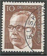 BERLIN, 1970, used 10pf Pres Heinemann Scott 9N286