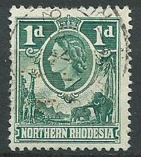 Northern Rhodesia  SG 62 Fine Used