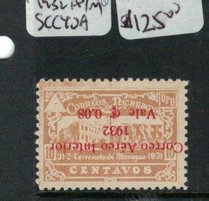 Nicaragua 1932 A/M SC C40a NGAI (4ekt)
