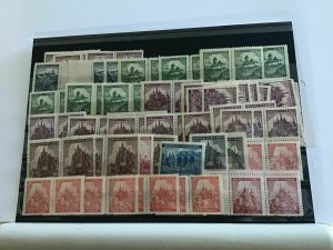 Bohemia and Moravia mint never hinged stamps  R22528