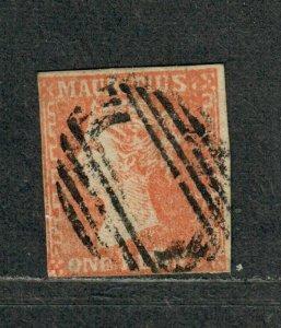 Mauritius SG#16 Used/F, Cv. $1350