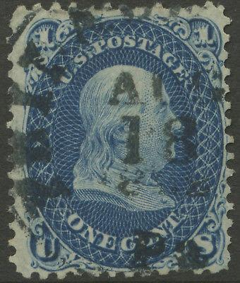 #63b DARK BLUE SM FLTS TRUE COLOR W/ PSE CERT BL6756