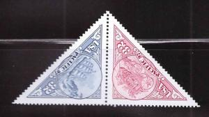 USA Scott 3130-3131 = 3131a MNH** Pacifica 97 pair of triangular stamps