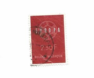 Belgium 1959 - Europa - Scott #536 *