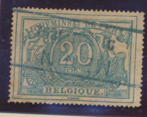 Belgium Stamp Scott #Q9, Used - Free U.S. Shipping, Free Worldwide Shipping O...