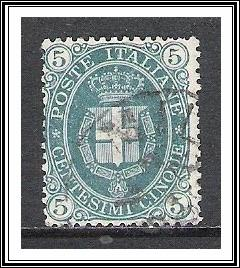 Italy #52 Arms Of Savoy Used