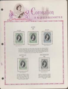 CORONATION QUEEN ELIZABETH II  Complete Set