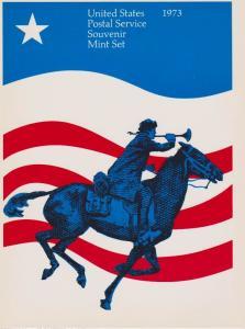 USA -1973 SOUVENIR MINT SET-MINI ALBUM LOT#US260