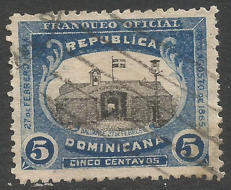 DOMINICAN REPUBLIC O2 VFU W123