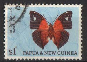 Papua New Guinea - #219 - used - butterfly