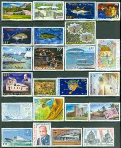 EDW1949SELL : WALLIS Beautiful Diff VFMNH collect almost all between 1991-2000