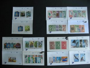 Cayman Islands mint and used collection assembled in sales cards