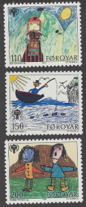 Faroe Islands #45-7; International Year of the Child