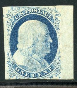 UNITED STATES SCOTT#9  WITH PSAG CERTIFICATE MINT DISTURBED  ORIGINAL GUM