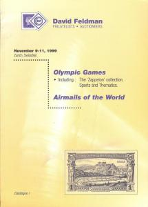 Olympic Games including: The Zappeion collection; Sport...