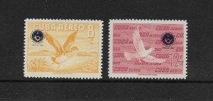 BIRDS - CUBA  #C209-10   MNH