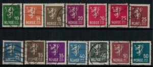 Norway #115-28  CV $10.40