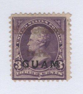 Guam #3 Used SCV. $175  (JH 12/14) GP
