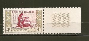 Dahomey 144 Potter With Tab MNH