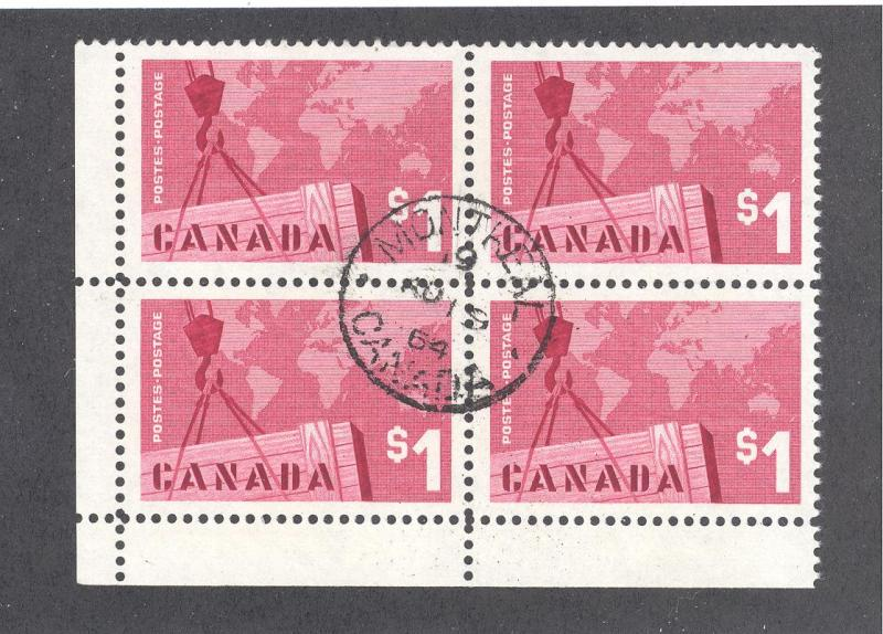 Canada 411, F-VF, Used / HipStamp