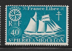 Saint Pierre and Miquelon Mint Never Hinged [4133]