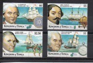 Tonga 1014-1017 MNH