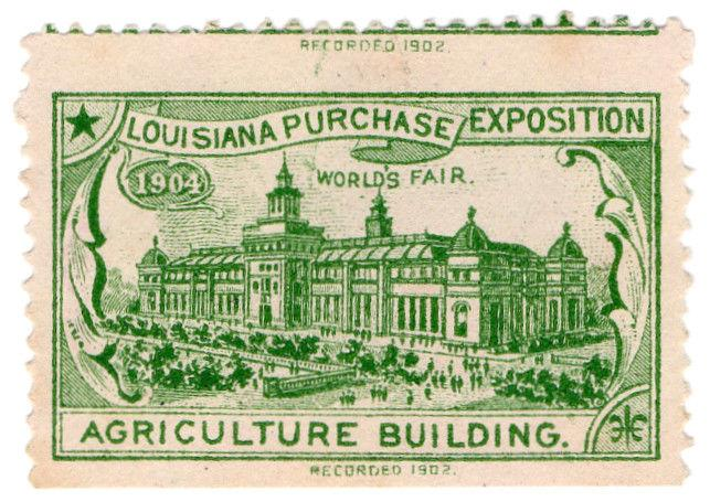 (I.B) US Cinderella : Louisiana Purchase Exposition (Agriculture Building)