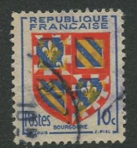 France - Scott 616 - General Definitive Issue -1949 - Used -10c Stamp