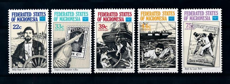 [72227] Micronesia 1986 Bully Hayes Ship Forgery Book  MNH