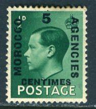 Great Britain Morocco; 1936: Sc. # 78: **/MNH Single Stamp
