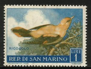 San Marino 1960 Scott# 446 MH