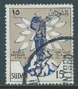 Sudan, Sc #128, 15m Used