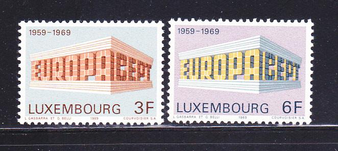 Luxembourg 475-476 Set MH Europa