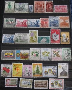 Colombia 34 Different Air Mail