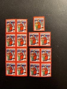 Christmas Seal 1932, CS 26, WX65, , See discription, MNH, $8.00