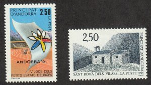 Andorra-French - 1991 - SC 401-02 - VLH