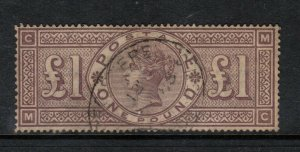 Great Britain #110 Very Fine Used With Light Cancel