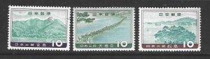 Japan 688-690  Mint  Complete