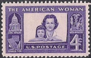 1152 4 cent The American Woman mint OG NH EGRADED XF 91