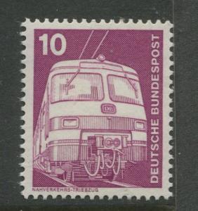 Germany -Scott 1171 - Definitive Issue -1975 - MNH -Single 10pf Stamp