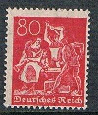 Germany 145: 80pf Iron Workers, MH, F