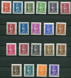CROATIA GERMAN PUPPET STATE 1943-1944 ANTE PAVELICH SET 61-80 PERFECT MNH