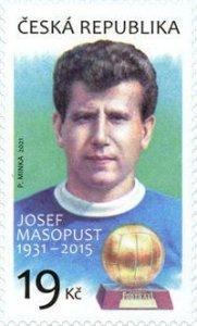 Czech Republic 2021 MNH Stamps Sport Football Soccer Player Masopust