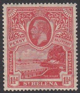 St. Helena 76 MH CV $12.00