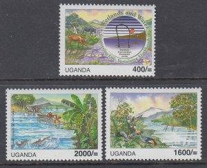 Uganda 1882-1884 MNH VF