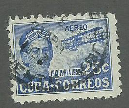1952 Cuba Scott Catalog Number C62 Used