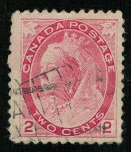 1908, Canada, 2 c (T-9451)